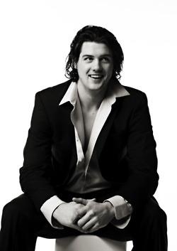 Jamie Benn - smiling