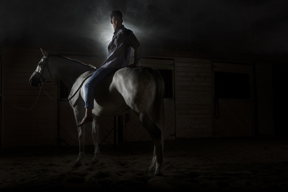 Prince on a horse