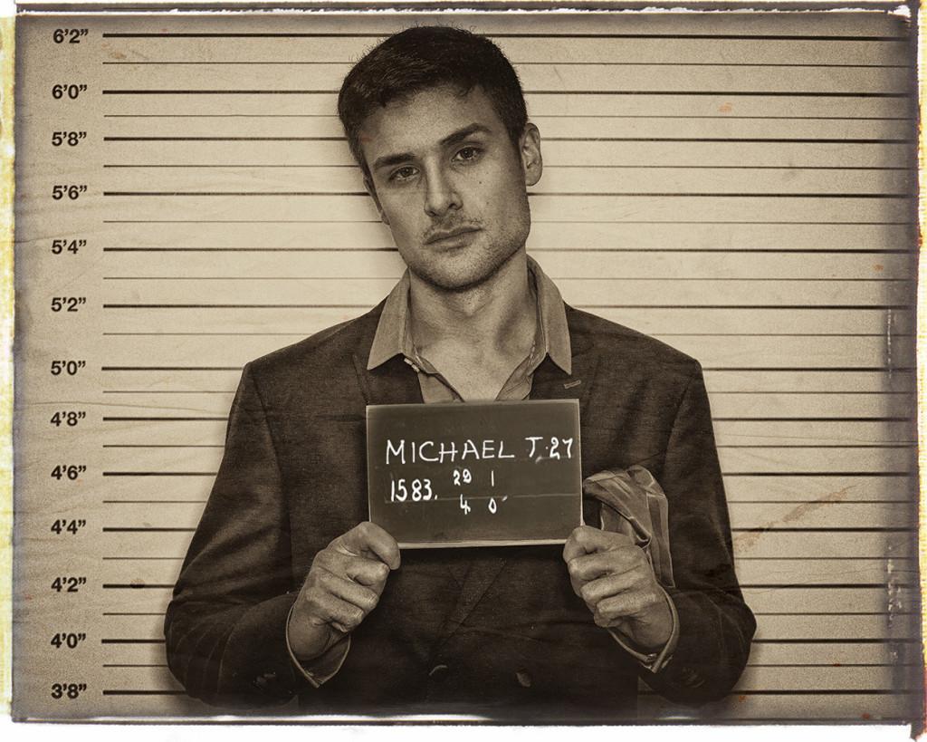 Michael mug shot